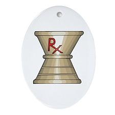 Pharmacy Trophy Oval Ornament