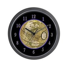 Glowing Globe Clock