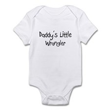 Daddy's Little Wrangler Infant Bodysuit