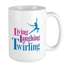 Living Laughing Twirling Mug