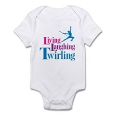 Living Laughing Twirling Infant Bodysuit