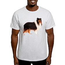 Black Rough Collie T-Shirt