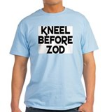 Kneel before Zod Ash Grey T-Shirt