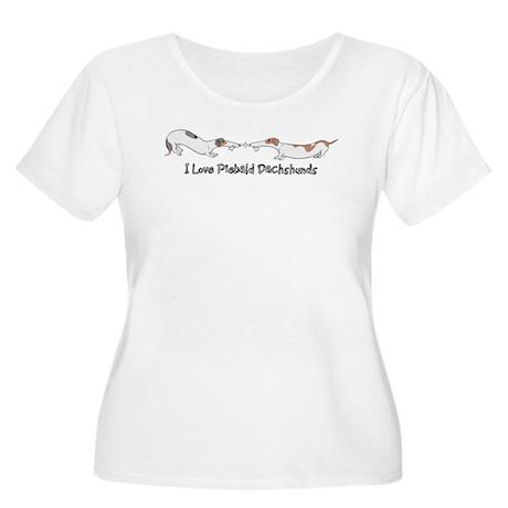 Piebald Tug O War Women's Plus Size Scoop Neck T-S