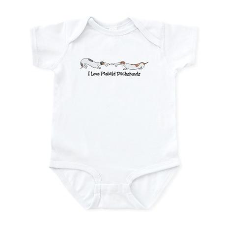 Piebald Tug O War Infant Bodysuit