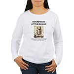 Little Big Man Wanted Women's Long Sleeve T-Shirt