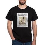 Little Big Man Wanted Dark T-Shirt