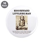 "Little Big Man Wanted 3.5"" Button (10 pack)"