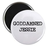 GODDAMNED JESSIE 2.25&quot; Magnet (10 pack)