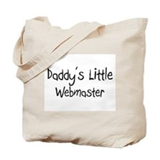 Daddy's Little Webmaster Tote Bag