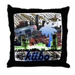 Throw Pillow kubo downtown