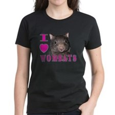 I Love ( Heart ) Wombats Tee