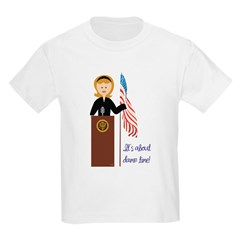 Election Equality! Hillary Kids Light T-Shirt