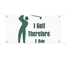 Gift for Golfing Dad Banner