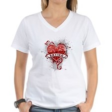 Heart Skiing Shirt