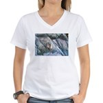 Pockwockamus Rock Women's V-Neck T-Shirt