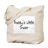Daddy's Little Trader Tote Bag
