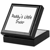 Daddy's Little Trader Keepsake Box