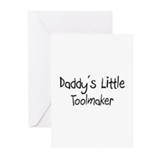Daddy's Little Toolmaker Greeting Cards (Pk of 10)