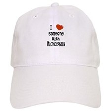 Luv someone with Microcephaly Baseball Cap
