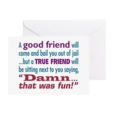 True Friend - Greeting Card