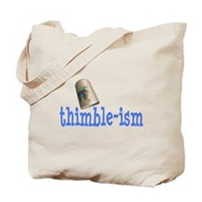 Sewing Thimble Tote Bag