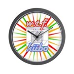 Wall Clock kubo rallas
