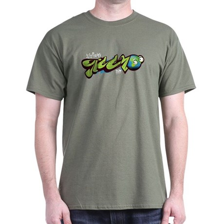 Think Green - Graffiti Dark T-Shirt