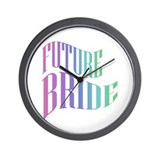 Future Bride Wall Clock