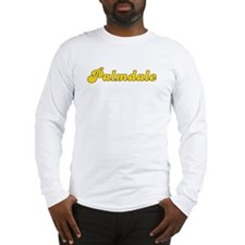 Retro Palmdale (Gold) Long Sleeve T-Shirt