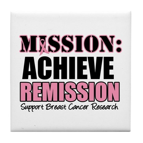 Mission Remission BC Tile Coaster