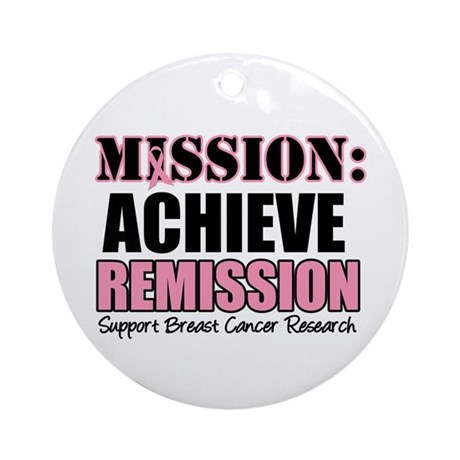 Mission Remission BC Ornament (Round)