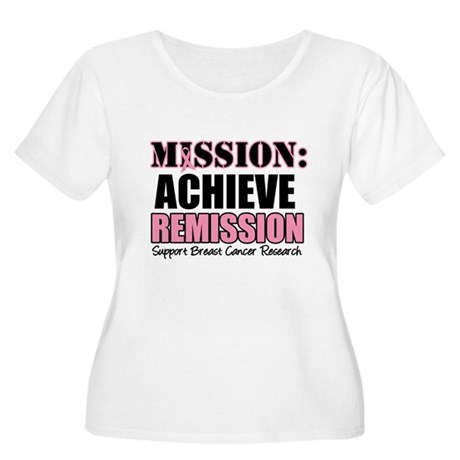 Mission Remission BC Women's Plus Size Scoop Neck