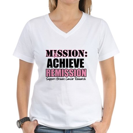 Mission Remission BC Women's V-Neck T-Shirt