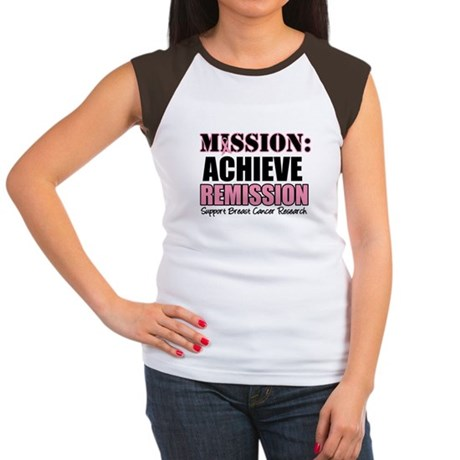 Mission Remission BC Women's Cap Sleeve T-Shirt