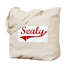 Sealy (red vintage) Tote Bag
