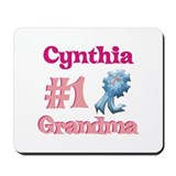 Cynthia - #1 Grandma Mousepad