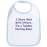 Shares Well Tandeming Baby Bib