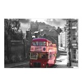 Vintage Bus Edinburgh Postcards (Package of 8)