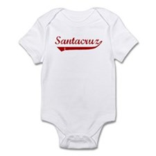 Santacruz (red vintage) Infant Bodysuit