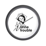 Urine Trouble ~  Wall Clock