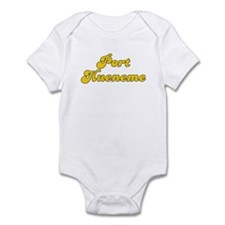 Retro Port Hueneme (Gold) Infant Bodysuit