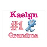Kaelyn - #1 Grandma Postcards (Package of 8)
