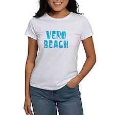 Vero Beach Faded (Blue) Tee