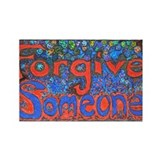 Forgive Someone Rectangle Magnet (100 pack)