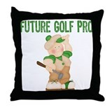 Golfers Throw Pillow