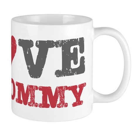 I Love Heart My Mommy Mug