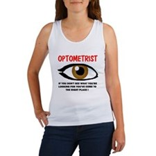 OPTOMETRIST Women's Tank Top
