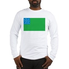 Green Mountain Boys Flag Long Sleeve T-Shirt