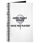 How Many Holes Played? Journal